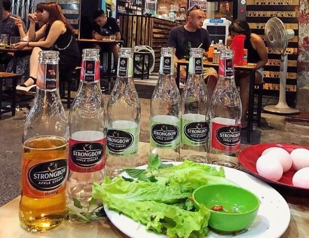 Tìm hiểu về loại thức uống Strongbow