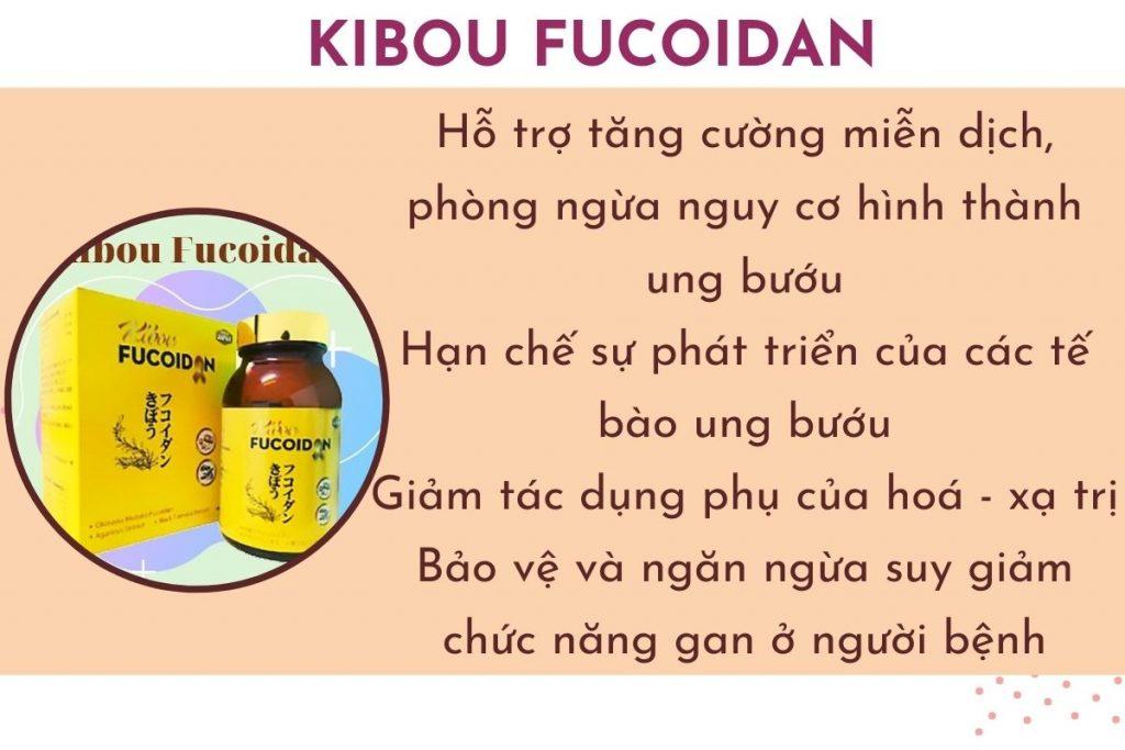 """Công dụng của Kibou Fucoidan - sản phẩm """"vàng"""" cho bệnh nhân ung thư"""