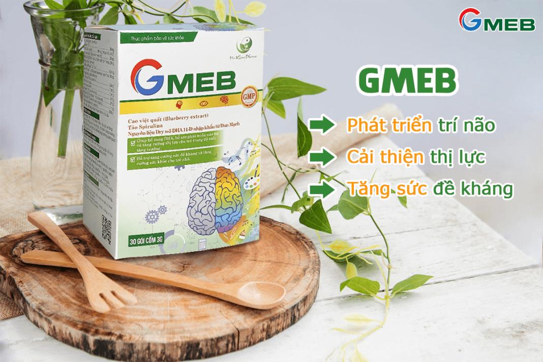 Sản phẩm cốm Gmeb dành cho bé