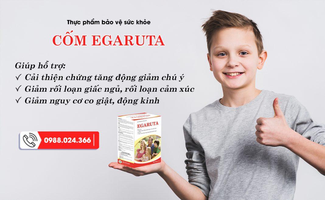 Egaruta - giải pháp hàng đầu cho trẻ tăng động giảm chú ý, co giật động kinh