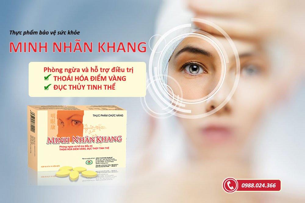 Minh Nhãn Khang - sản phẩm bổ mắt được hàng triệu người Việt tin dùng